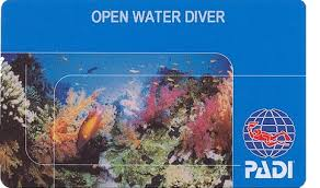 padi open waterdiver