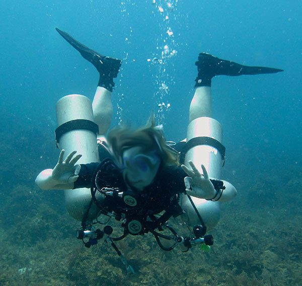 horrible sidemount