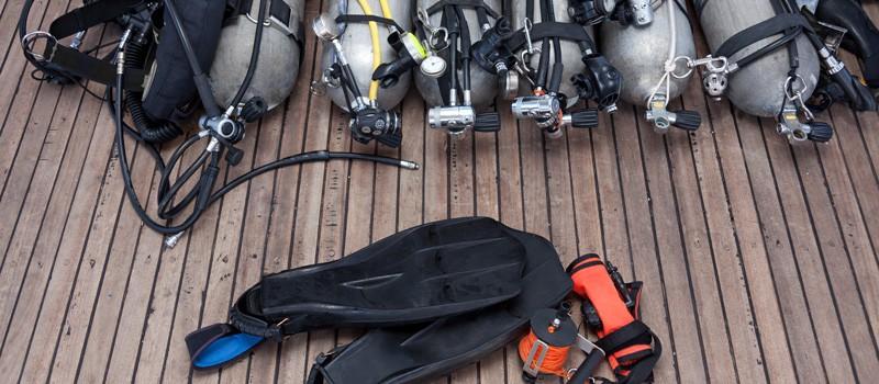 scuba gear covid